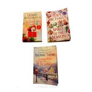 Christmas romance books Lot of 3 NEW and EUC